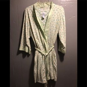 Robe with nightgown